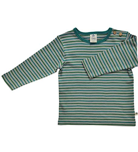 Leela Cotton - Haut à manches longues - Bébé (garçon) - Bleu - 6 ans