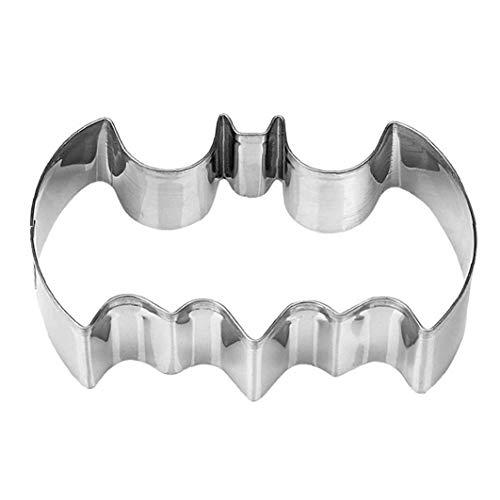 NaiCasy El Moho Torta de la Galleta Batman Navidad de la hornada del Molde de Cocina de Acero Inoxidable para Hornear Galletas Equipo