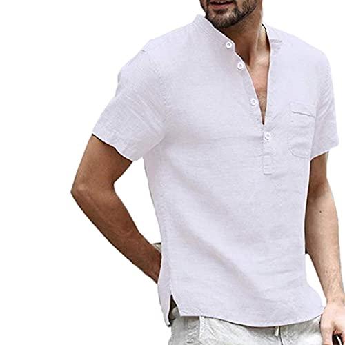 Su-xuri Summer - Camiseta de manga corta para hombre, transpirable, para correr, yoga, fiesta, ejercicio (5 colores)
