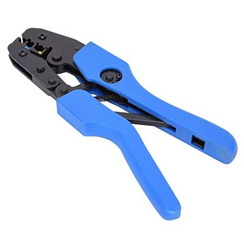 Alicates para engarzar, alicates para engarzar terminales de trinquete, engarzadora de cableado europeo ergonómico Suministros industriales