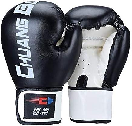 Boxhandschuhe Muay Thai Punch Bag Mitts Sparring Sparring Sparring Stanzen Maya Leder MMA, Kickboxen, Trainingsboxen (Farbe   schwarz) B07QGCLR9C     | Das hochwertigste Material  2747ba