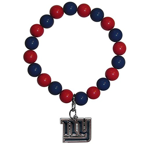 Siskiyou NFL York Giants Fan Bead Bracelet