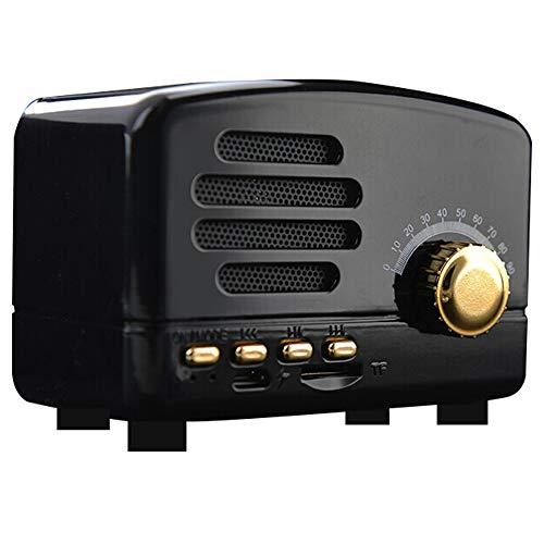 Xiao Jian luidspreker, draadloos, Bluetooth, audio, subwoofer, voor computer, telefoon, nachtkastje, mini-subwoofer, laptop, desktop, draagbaar, 95 x 60 x 70 mm Een