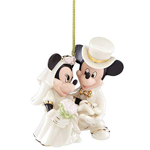 Lenox Minnie's Dream Wedding Ornament, 0.45 LB, Multi