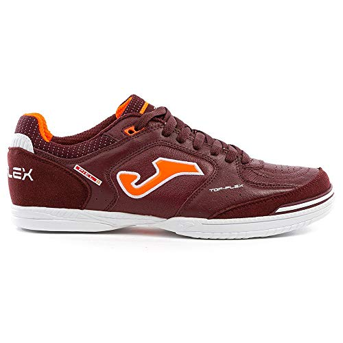 Scarpe Calcetto Indoor Joma Top Flex 906, Bordeaux, 40