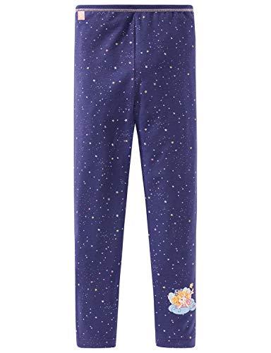 Schiesser Mädchen Prinzessin Lillifee lang Unterhose, Blau (Nachtblau 804), 104