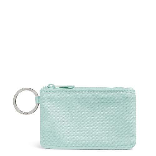 Vera Bradley Damen Recycelte Lighten Up Reactive Zip ID Case Wallet, (Verwaschene Jeans), Einheitsgröße