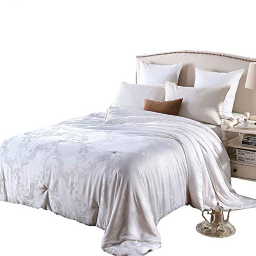 Buy Bargain fscz Silk is 100% Silk Winter is Air-Conditioned by The Bedroom Bedding by The Core Winter Thickened to Keep Warm 180 × 220Cm (4Kg)