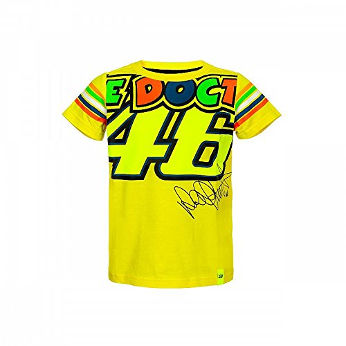 Valentino Rojos vrkts307901004, Camiseta bambibo, Niño, Yellow, 4–5Years 69cm/27in Chest