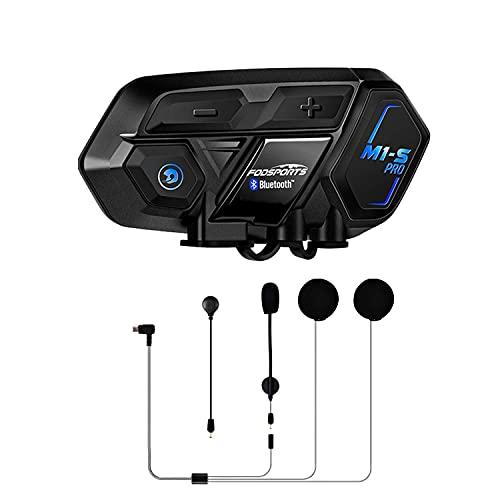 FreedConn interkom Bluetooth do kasku motocyklowego, zestaw słuchawkowy, również do nart i pojazdów terenowych, radio FM, odporny na warunki atmosferyczne, zasięg 1000 m.