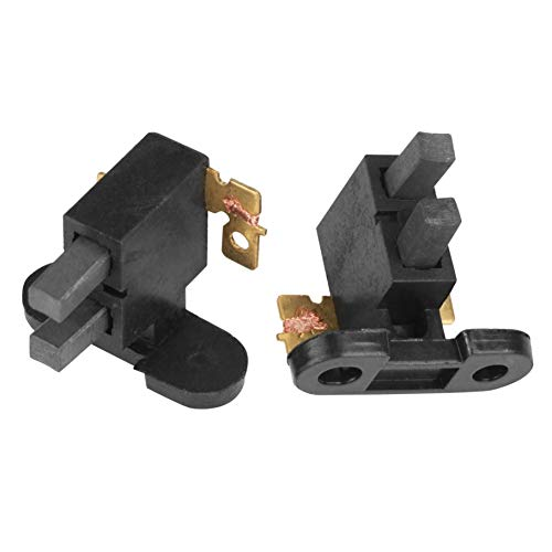 Agger 5PCS Cepillo de carbón del Conjunto de escobillas de carbón Negro para la Gasolina 2-3kw Accesorios Generador
