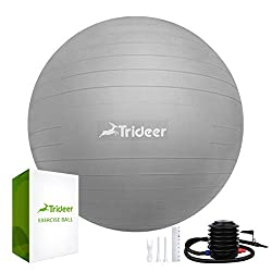 Best Exercise Ball in 2017 – Reviews & Buyer's Guide - affordable fitness and exercise ball for home