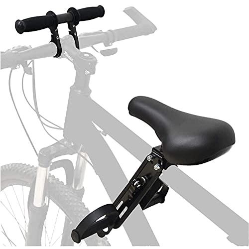 Anforee Kindersitz Fahrrad Mountainbike Vorne Kinder Fahrradsitz, Vorneliegender Kinderfahrradsitz für Mountainbikes mit Lenker von 2-5 Jahren Kompatibel mit Allen Erwachsenen MTBs