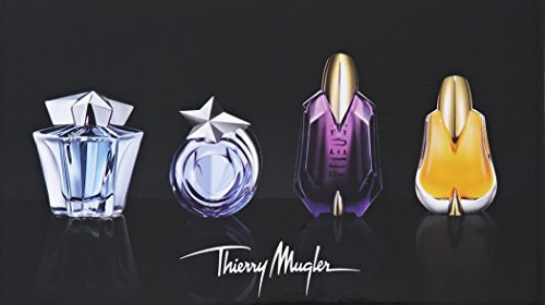 Thierry Mugler Mini Variety Collection for Women (Angel EDP 0.17 oz, Angel EDT 0.1 oz, Alien EDP 0.2 oz, Alien Essence…