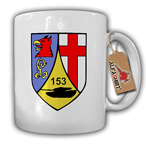 Tasse PzBtl 153 Wappen BW Panzerbataillon Koblenz Fritsch-Kaserne Logo #17883