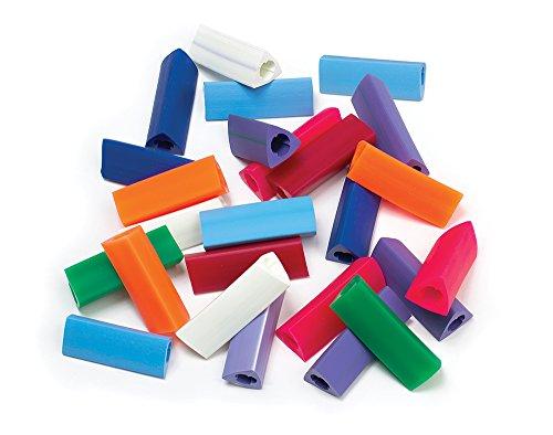 Maddak Gripper Pencil Grips, Regular Size, Assorted (Pack of 25) (736060000)