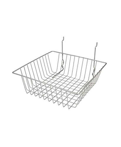 AMKO BSK13 BLK Small Basket Pack Fashion Bask - Max 41% OFF Spacious Slatwall of 6