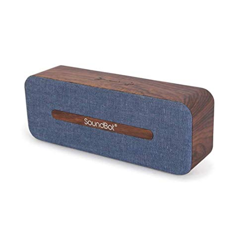 SoundBot SB574 Bluetooth 4.2 Wireless Speaker (Blue)