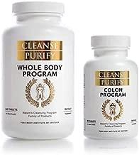 Pure Body Tiny Mighty Duo (Whole Body & Colon Program) - 60 Whole Body Tablets, 20 Colon Tablets - 6-10 Day Cleanse