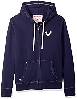 True Religion Men's Buddha Logo Zip Hoodie3