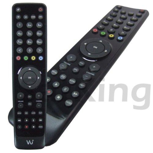 Vu+ 11788 Fernbedienung Audio,TV Drucktasten - Fernbedienungen (Audio,TV, Drucktasten, Schwarz)