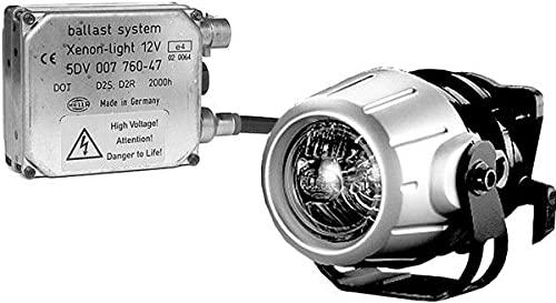 HELLA 1F0 008 390-821 DE/Xénon-Kit de projecteurs longue portée - Premium 50 - 12V - rond - Chiffre de référence: 17.5 - Montage encastré - Couleur du voyant: limpide - gauche/droite - Kit - Quantité: