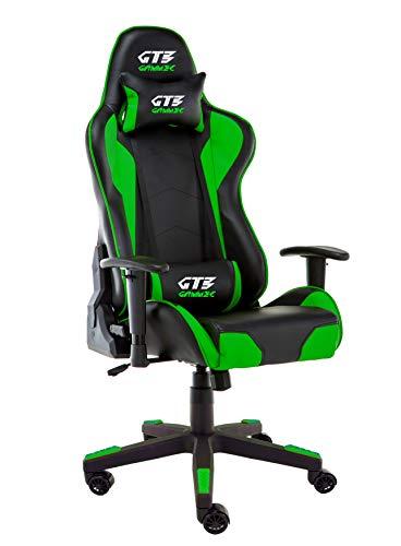 Gammec Poltrona da Gaming GT3 Verde/Nera - GT3GRN - Sedia Gaming