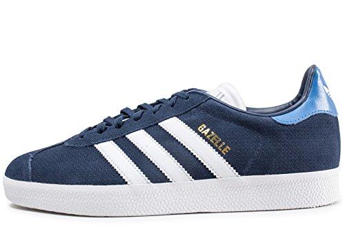 adidas Gazelle, Chaussures de Fitness Homme, Bleu (Maruni/Ftwbla/Azretr 000), 40 2/3 EU