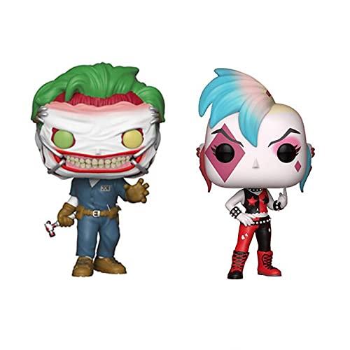 2 Piezas The Joker # 273 Harley Quinn # 233 Figura De Acción De Vinilo Juguetes Colección Modelo...