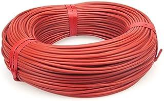 DZF697 1PC 10 à 100 mètres Câble Chauffant Chaud au Sol de 12K 33OHM / m Fils de Chauffage en Fibre de Carbone (Length : 1...