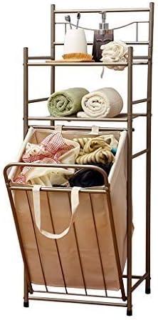 Super intense Our shop most popular SALE Achysj Shelf Dirty Clothes Storage Bathroo Storey Double Basket