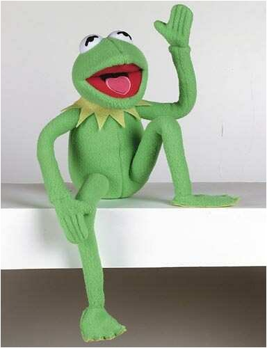 United Labels 0800863 - The Muppets-Kermit Plüschfigur 35 cm