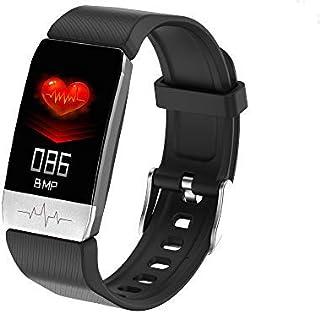 QLKJ Relojes Inteligentes Inteligente Impermeable IP67 Pulsera de Actividad Deportivo con GPS Podómetro Monitor de Ritmo Calorías Sueño Notificación etc para Hombre Mujer Niños