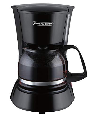 Proctor Silex 48138 Cafetera para 4 tazas,, Negro
