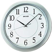 Seiko Wall Clock (31 cm x 31 cm x cm x 4 cm, Silver, QXA352SN)