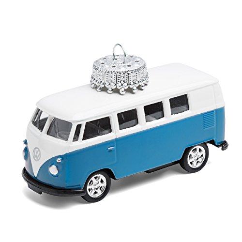 corpus delicti :: Christbaumschmuck aus Metall – die rollende Alternative zur Weihnachtskugel – VW Bus T1 Bulli (blau) (W20.2b)