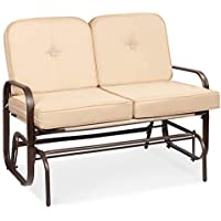 Best Choice Products 2-Person Outdoor Loveseat Rocking Chair