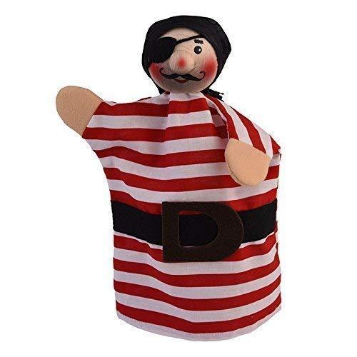 Kersa 61060 Handpuppe Seeräuber Carlos für Puppentheater Holzkopf