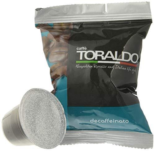 Caffè Toraldo Miscela Decaffeinato Compatibili Nespresso, 100 Capsule