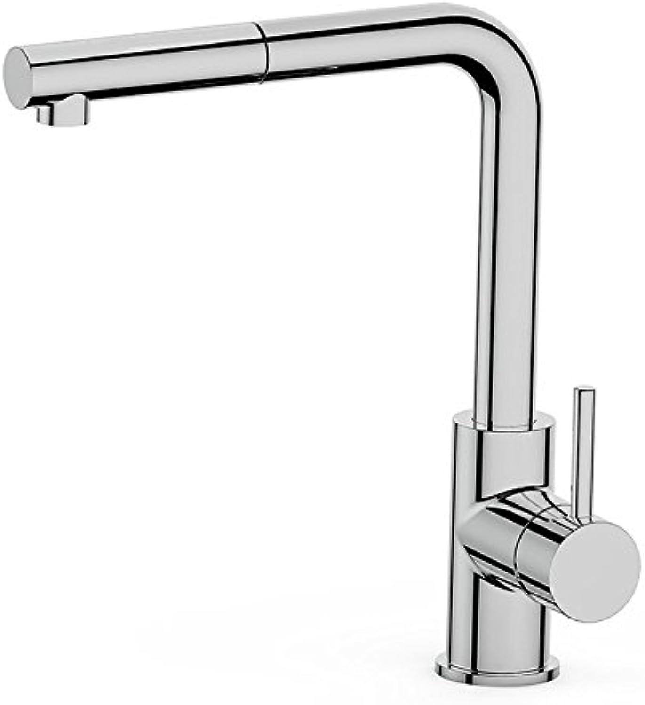 Bijjaladeva Wasserhahn Bad Wasserfall Mischbatterie WaschbeckenKüchenarmatur mit geringem Bleigehalt Kalt-und Warmwasser Mischventil Gericht Waschbecken Mixer Lift-up Einzigen was