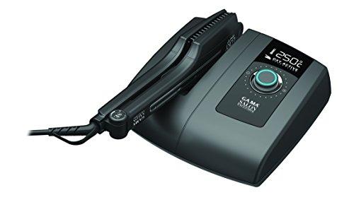 GAMA LOKY BOX OXY-ACTIVE, Piastra lisciante professionale, Ossigeno attivo, regolazione elettronica della temperature 150°-250°C, Riscaldamento istantaneo