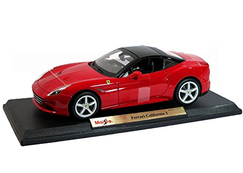 Maisto Ferrari California T Closed Top Special Edition Diecast 1:18 Red