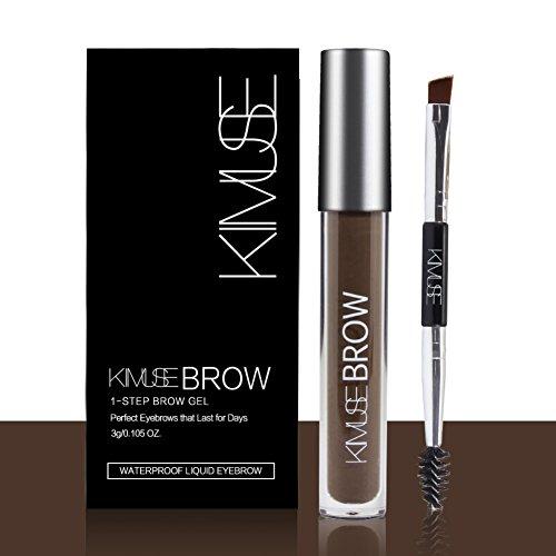 Allbesta Wasserdicht Augenbrauengel Augenbrauen Farben mit Pinsel Langanhaltend Eyebrow Dye Tinting Augenbrauenfarbe