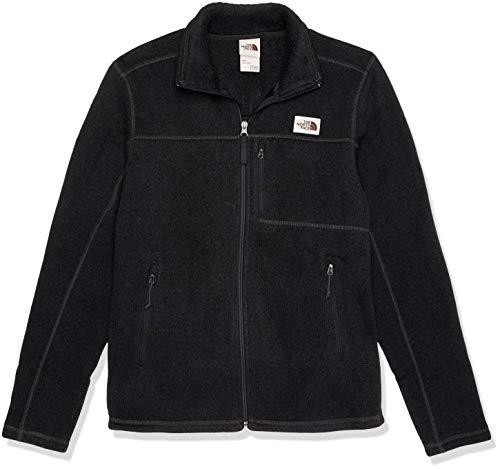 The North Face Men's Gordon Lyons Full Zip Fleece Jacket, TNF Dark Grey Heather, Large