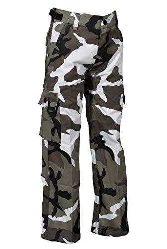 Robuste + Komfortable US Style Kinder Jungen Mädchen Rangerhose Freizeithose Kampfhose viele verschiedene Farben S-XXXL (S (122/128), Metro)