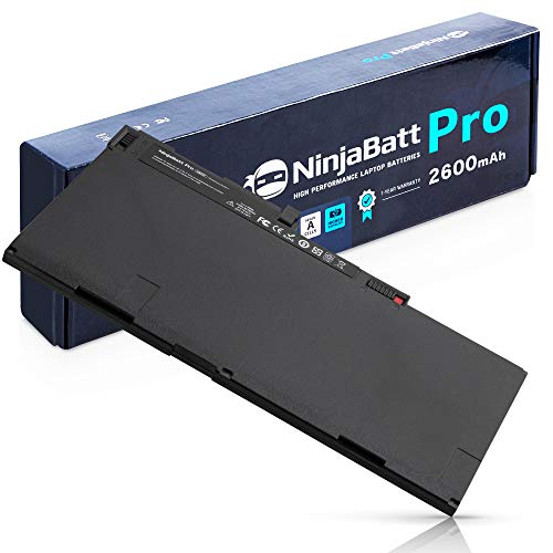 NinjaBatt Pro Battery CM03XL for HP 717376-001 EliteBook 850 845 840 750 745 740 G1 G2 Series Zbook 14 15u 716723-271 716724-421 CM03 CO06XL - High Performance [50Wh/11.1v]