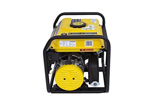 Firman P01201 1500/1200 Watt Recoil Start Gas Portable Generator cETL and CARB Certified, Black