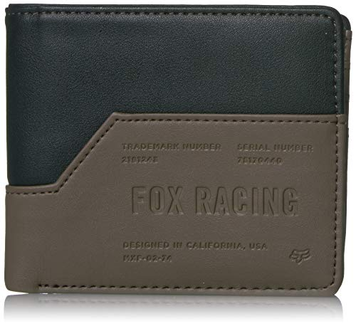 Fox Racing Men's The Corner Bi-Fold Wallet Black