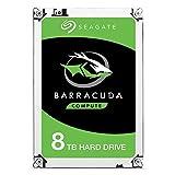 Seagate Barracuda ST8000DM004 - Disco duro interno para ordenador de sobremesa (8,9 cm/3,5', 256 MB de caché, 7200 rpm, SATA-III 6 Gb/s, capacidad de 8000 GB (8 TB)