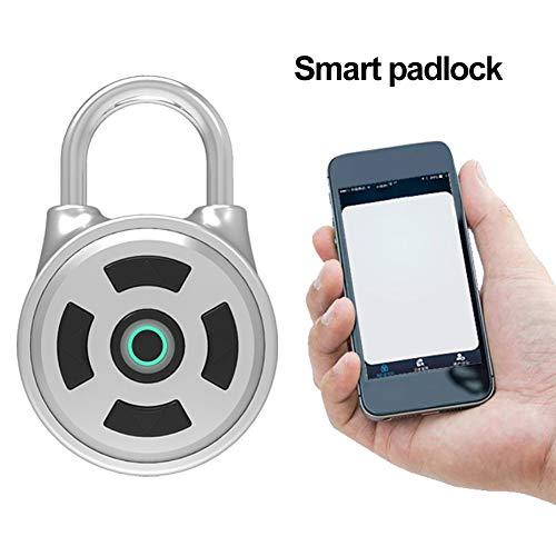 CFPacrobaticS Diebstahlsicherung Smart BT Keyless Lock wasserdichte APP-Taste Passwort Vorhängeschloss Türsicherheit Home Security Gepäckschrank Locker